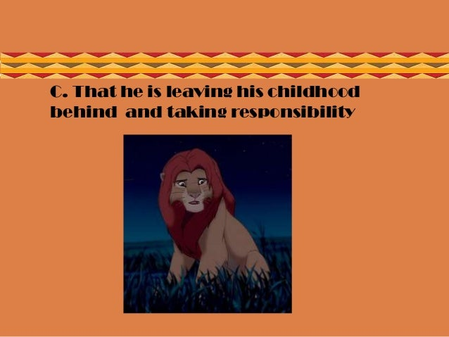 lion king movie simbas heroic journey essay Search for the lion king on amazoncom share this rating title: the lion king (1994) 85 /10 want to share imdb's rating on your own site use the html below you must be a registered user to use the imdb rating plugin.