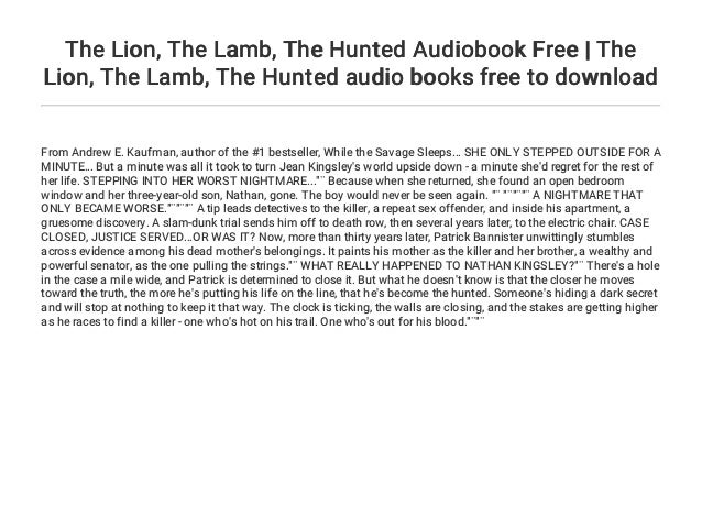 2 The Lion Lamb