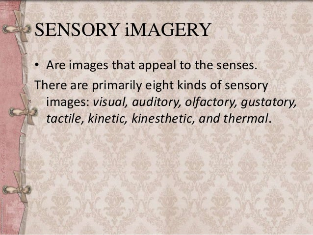 Kinesthetic Imagery Definition Literature