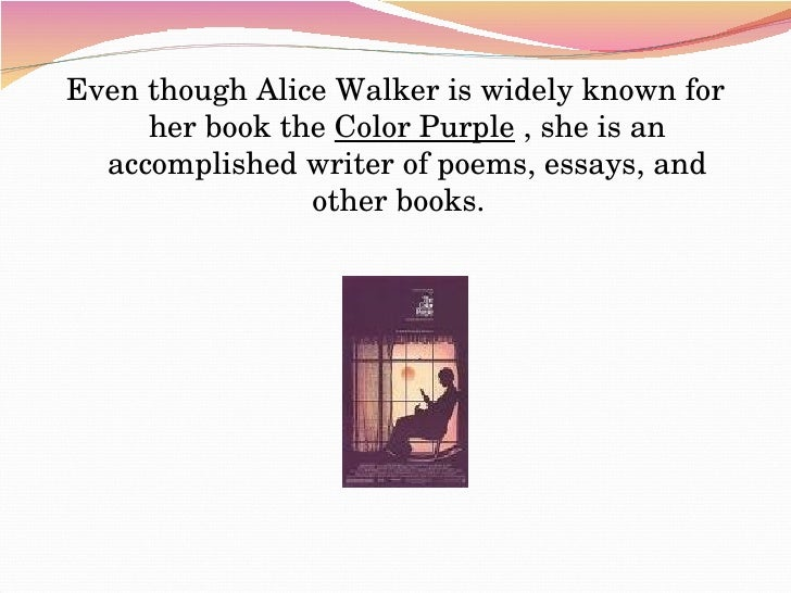 amazon com the color purple alice walker books in search of our mothers gardens womanist prose by alice walker hcom ivan zamora maria orozco - The Color Purple Book Pdf