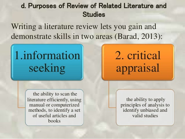 literature and study What is a literature review popular pages want the full version to study at home, take to school or just scribble on whether you are an academic novice.