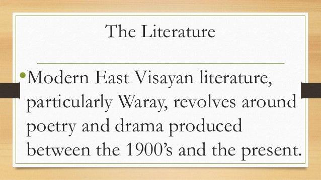 The literature of eastern visayas