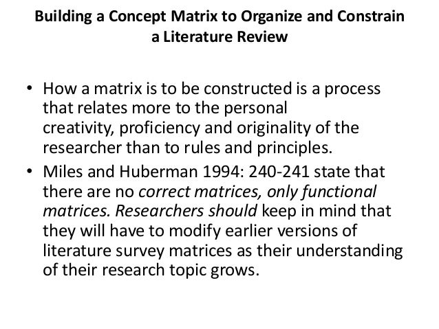 matrix epistemology essay