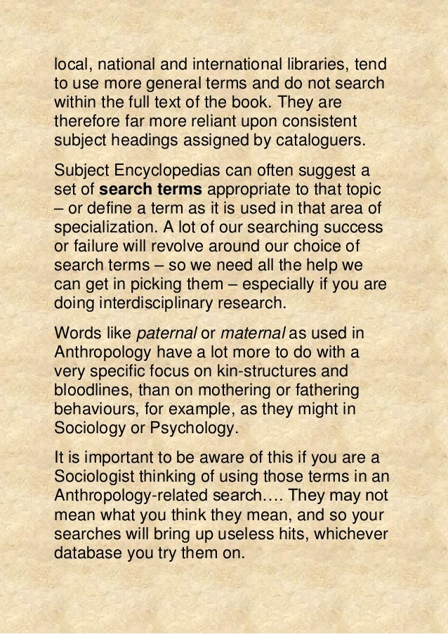literature review for sociology