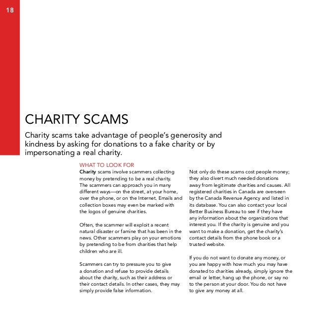 the little black book of scams pdf
