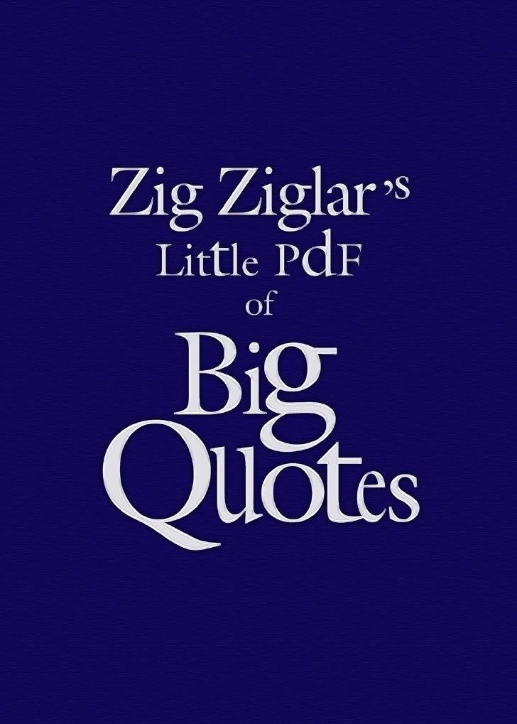 The Little Book of Big Quotes