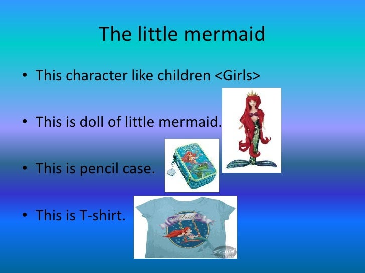 little mermaid short summary