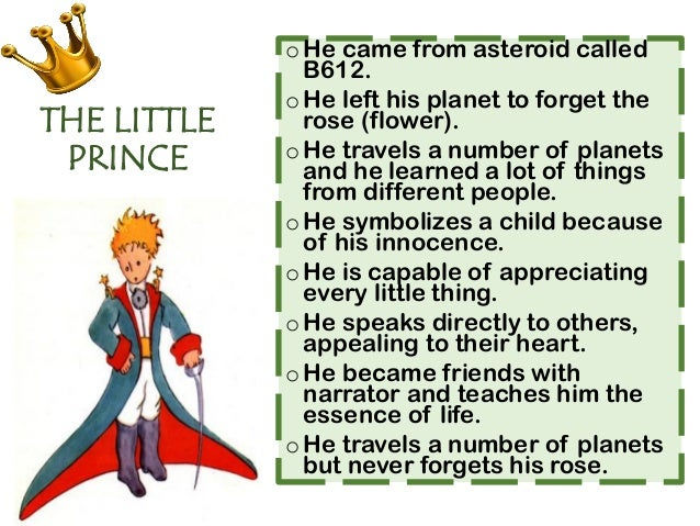 the little prince the king analysis