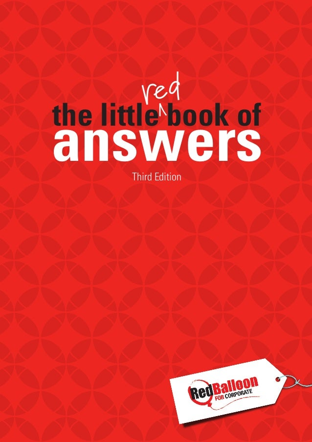 Culturecode the little red book of answers for hr managers the little book of answers creating happy people 1 third edition fandeluxe Choice Image