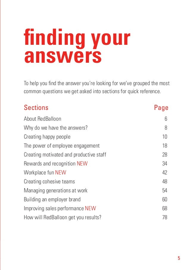 Culturecode the little red book of answers for hr managers 5 5 finding your answers fandeluxe Image collections