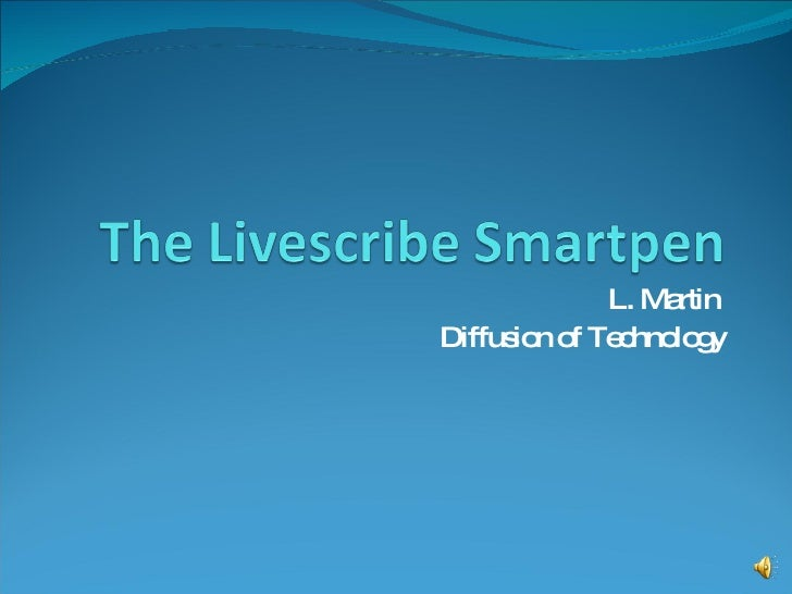 L. Martin  Diffusion of Technology