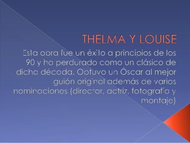 Thelma. roberto saller