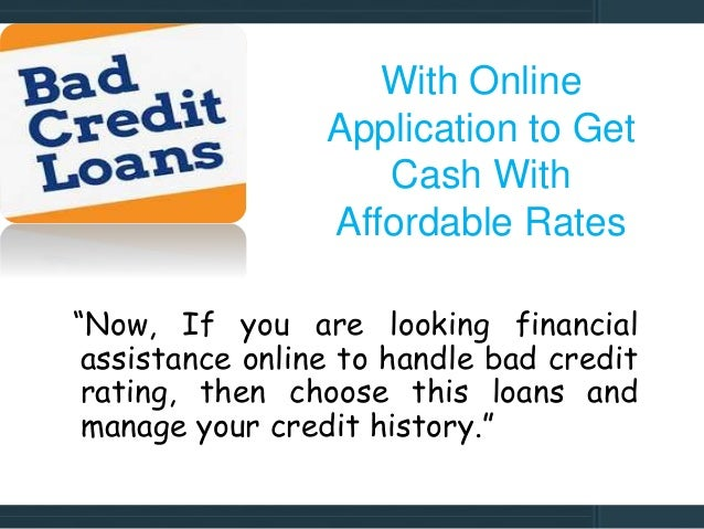 Bad Credit Loans- Obtains Swift Funds With Instant Decision - 웹