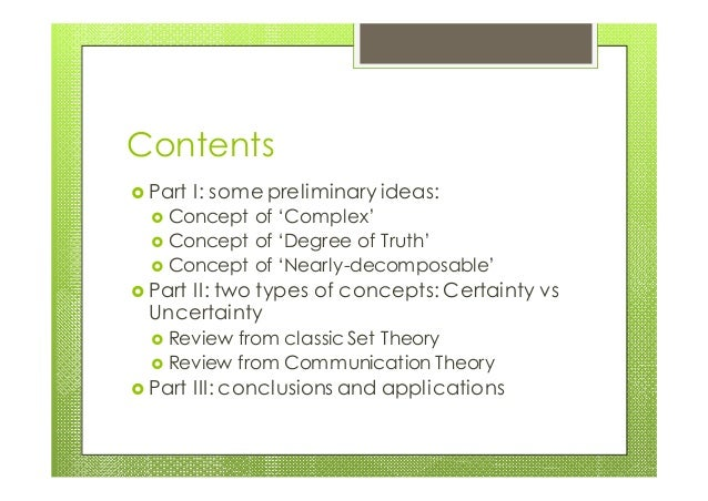 The logic of complexity v.00e Slide 2