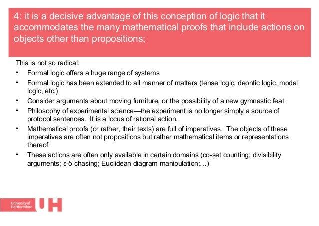 Premise Indicator Words: The Logic Of Informal Proofs