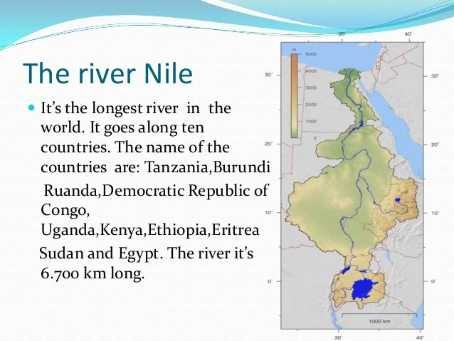the longest river and the widest river alex j
