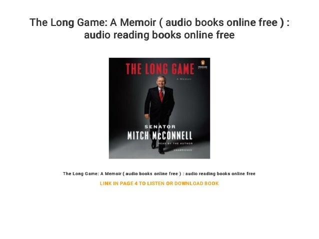 The Long Game: A Memoir ( audio books online free ) : audio reading books online free The Long Game: A Memoir ( audio book...