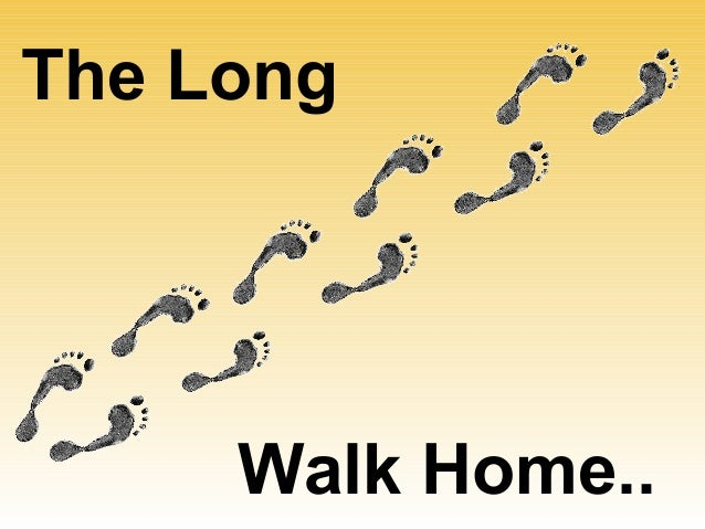 essay about the long walk home