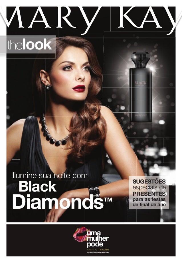 thelook  Ilumine sua noite com  Black  SUGESTÕES  Diamonds  ™  especiais de PRESENTES  para as festas de final de ano  uma...