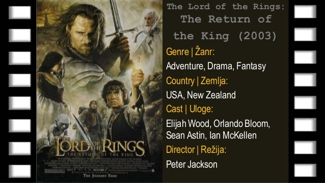 Lord Of The Rings  Film Sa Prevodom