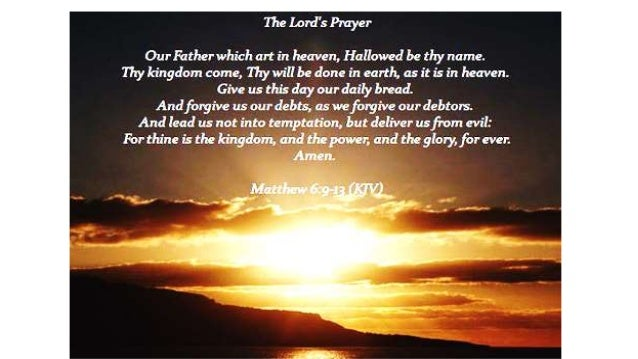 The Lord Prayer