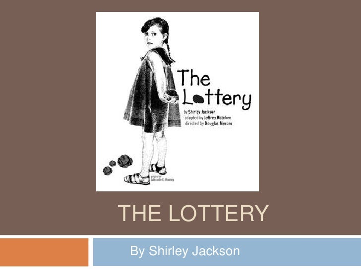 irony essay on the lottery