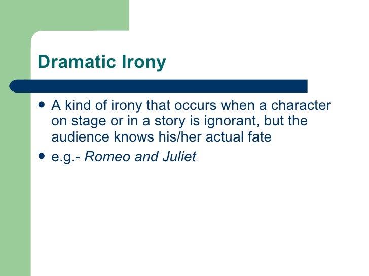examples of cosmic irony in literature
