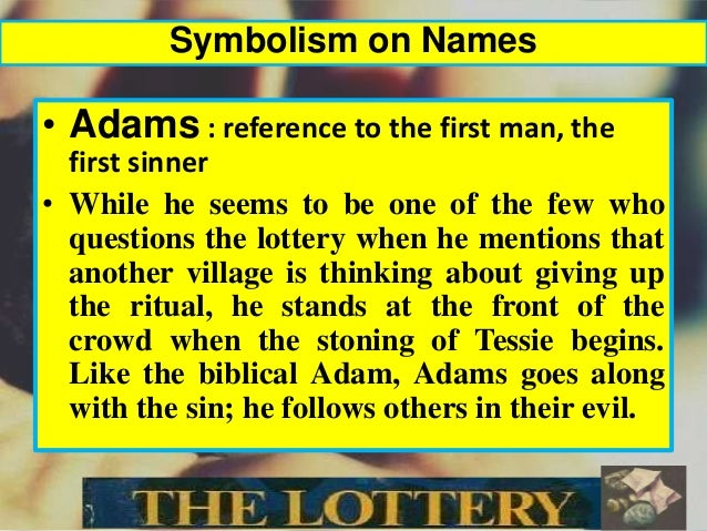 the black box symbolism in the lottery by shirley jackson The symbolism in the lottery english literature essay this selection is extremely rich in symbolism shirley jackson uses symbolism to make readers aware of the his name symbolizes the element of death that is an integral part of the lottery process the black box is the central.
