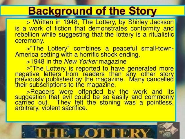 The lottery short story summary
