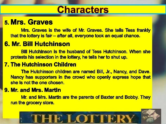 a summary of shirley jackson's the 'the lottery' by shirley jackson, a twisted tale of village culture, has been thrilling audiences for three generations in this lesson, we'll.