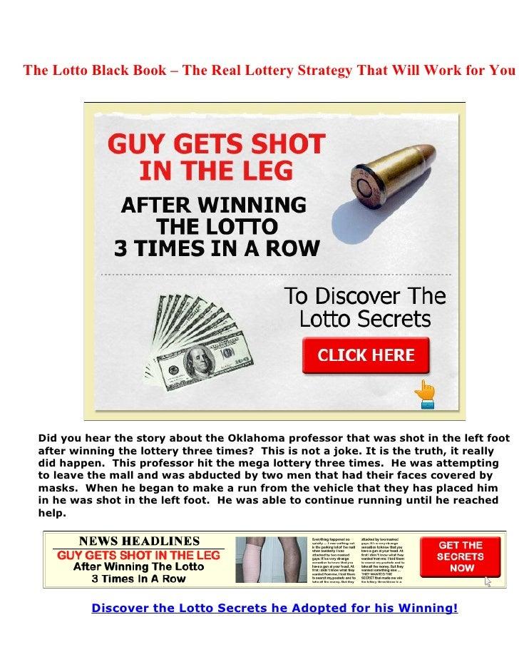 The Lotto Black Book Pdf
