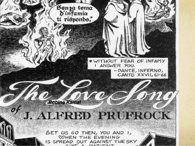 the love song of j alfred prufrock The love song of j alfred prufrock study guide contains a biography of ts eliot, literature essays, a complete e-text, quiz questions, major themes, characters, and a full summary and analysis.