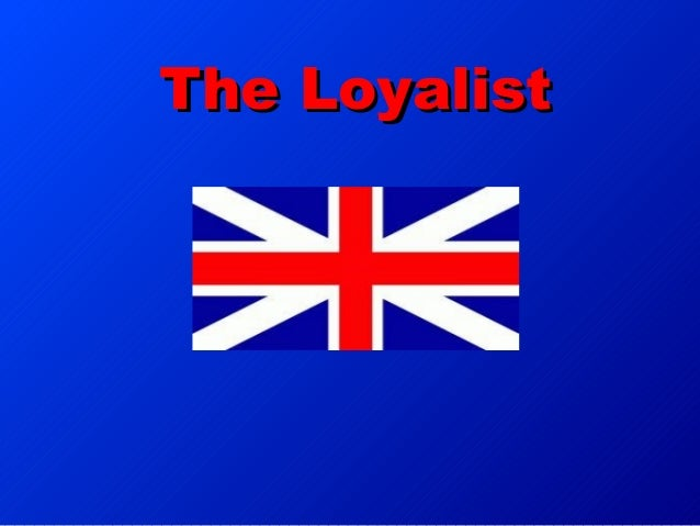 the loyalists coursework Ameera (rouse) mcneal  inform and ultimately convert users into brand loyalists  notable coursework.