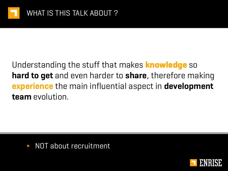The lust for knowledge and experience Slide 3