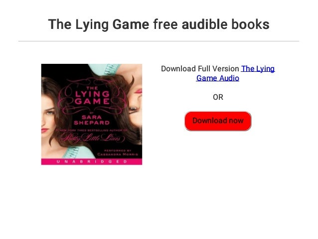 The Lying Game free audible books