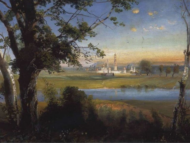 Alexei Kondratyevich Savrasov (May 24, 1830 – October 8, 1897) One of Russia's most remarkable landscape painters