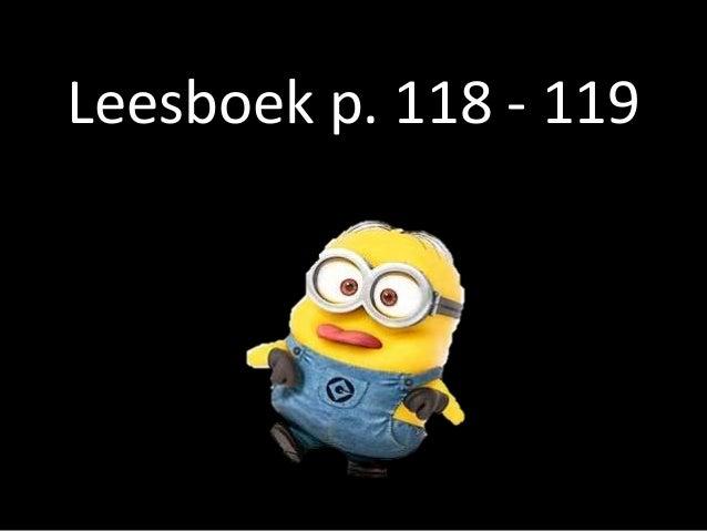 Leesboek p. 118 - 119