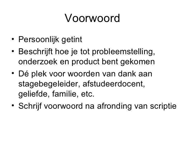 hoe schrijf je een voorwoord voorbeeld Hoe Schrijf Je Een Voorwoord Voorbeeld | gantinova