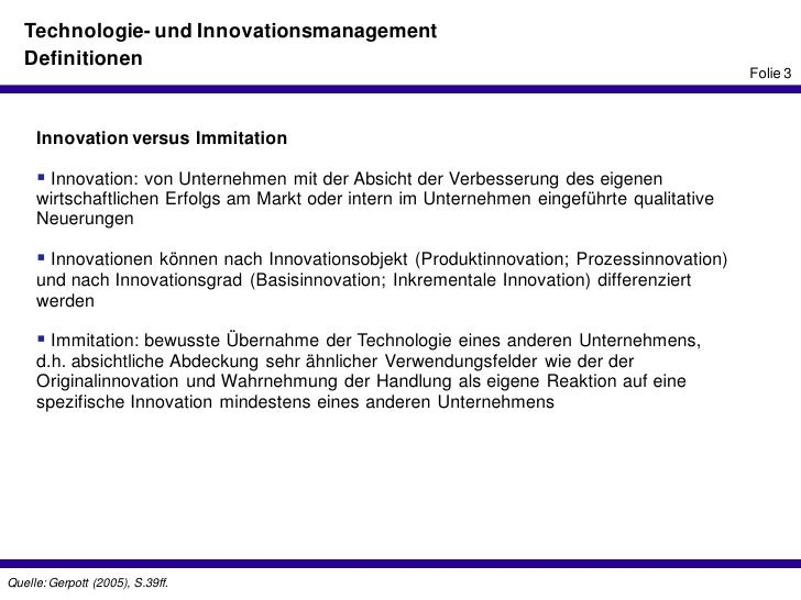 innovation vs immitation Business model innovation and competitive imitation: the case of sponsor-based business models ramon casadesus-masanell professor harvard business school.
