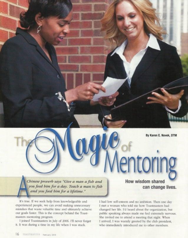 The Magic of Mentoring