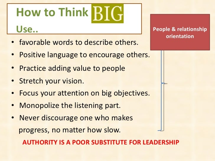 Think Big Quotes by Ben Carson