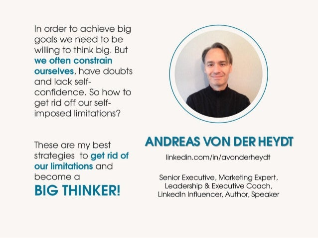 © Andreas von der Heydt – The Magic to Think Big