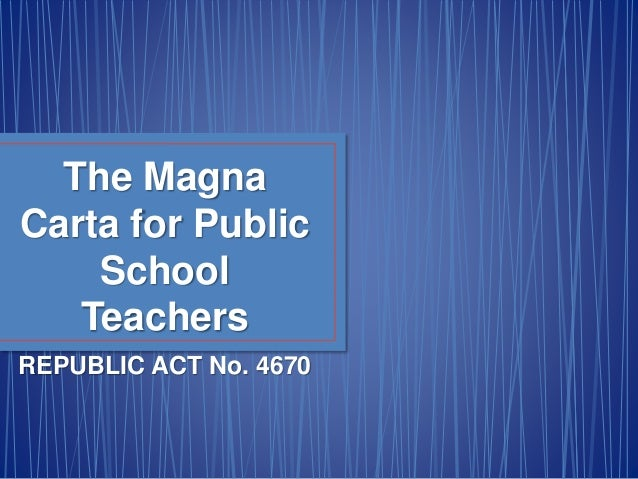 expectations on magna carta for school teachers Explore a range of magna carta-related teaching resources for use in primary and secondary school classrooms these are designed to help teachers get the most out of this website our magna.