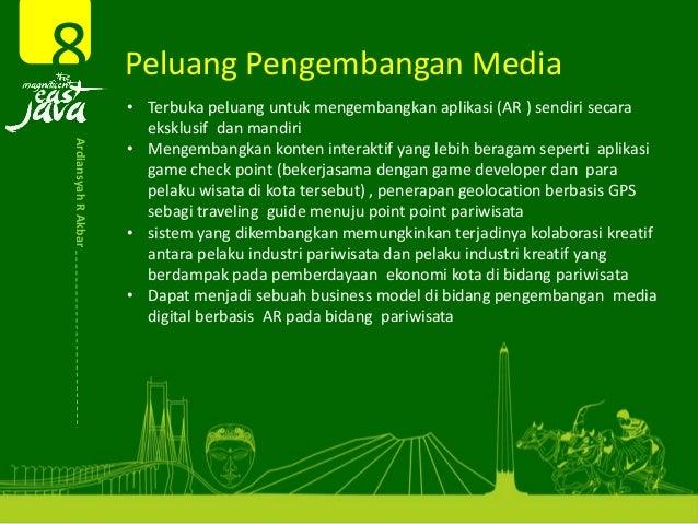 Peluang Pengembangan Media8ArdiansyahRAkbar • Terbukapeluanguntukmengembangkanaplikasi(AR)sendirisecara ekskl...