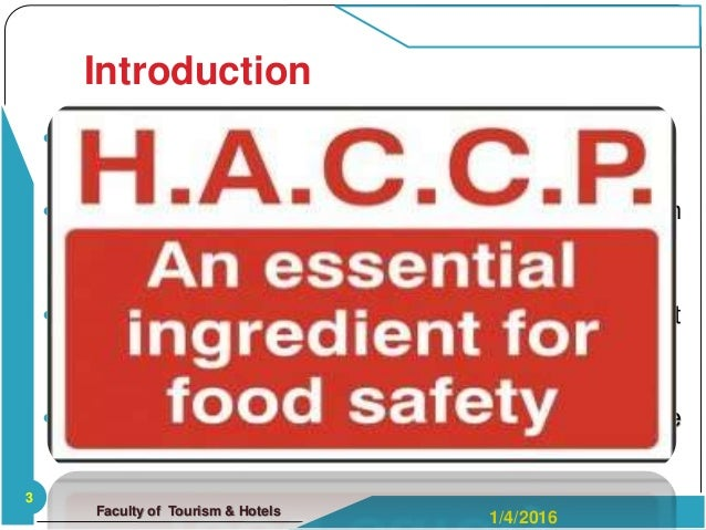 benefits and barriers of implementing haccp Potential barriers to the implementation of haccp need to be identified  benefit haccp had been reported by wallace and williams [11] it.