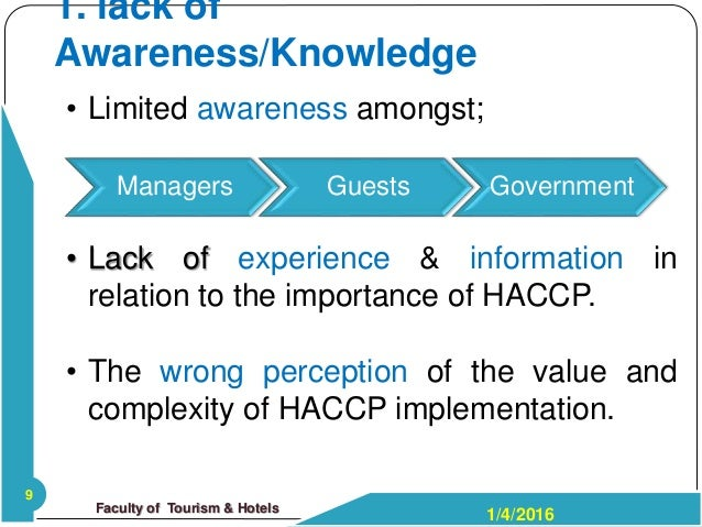 Barriers to HACCP implementation: evidence from the food processing sector in Ontario, Canada