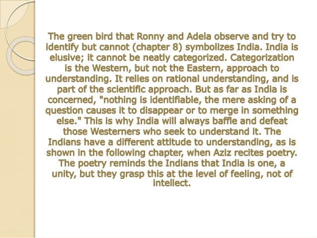 The Main Symbols In A Passage To India
