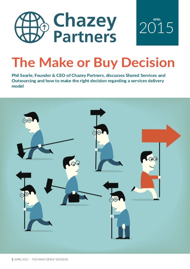 Make or buy decision thesis