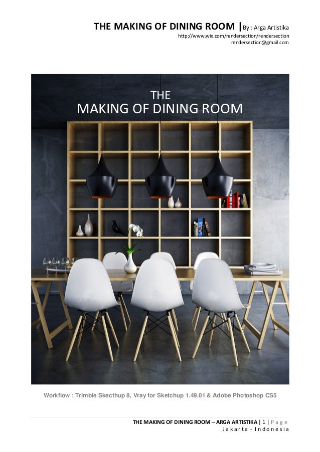 THE MAKING OF DINING ROOM |By : Arga Artistika                                             http://www.wix.com/rendersectio...