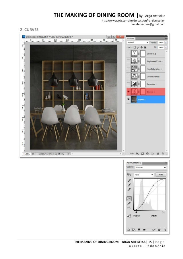 THE MAKING OF DINING ROOM |By : Arga Artistika                                     http://www.wix.com/rendersection/render...
